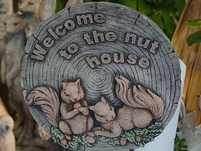 Nut House Plaque