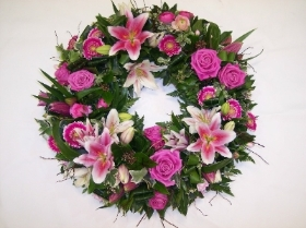 Large Grouped Wreath