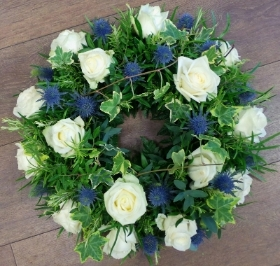 Rose & Thistle Wreath