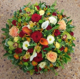 Rustic Coloured Posie Pad